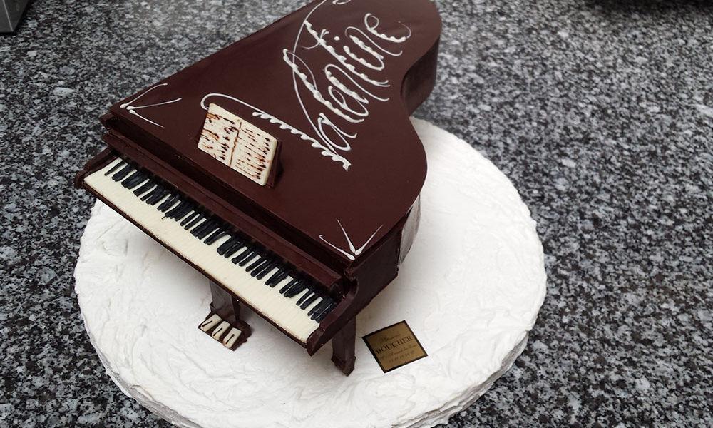 Piano chocolat